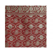 Red Heavy Broccade Rumala Sahib with Lining